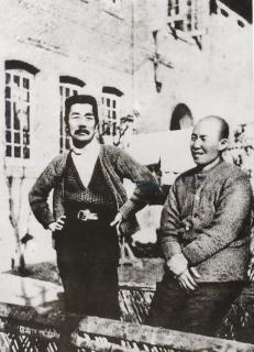 1933年夏 魯迅と内山完造